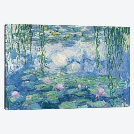 Waterlilies, 1916-19   Canvas Print #BMN2146} by Claude Monet Canvas Art