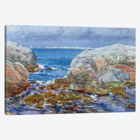 Duck Island, Isles of Shoals, 1906  Canvas Print #BMN2153} by Childe Hassam Canvas Art