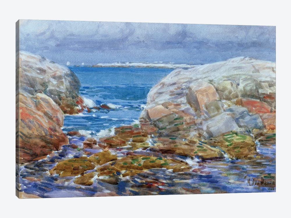 Duck Island, Isles of Shoals, 1906  by Childe Hassam 1-piece Canvas Art