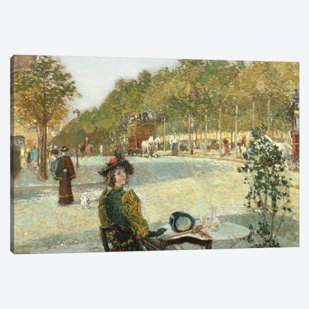 September Sunlight, Paris  Canvas Print #BMN2154} by Childe Hassam Art Print
