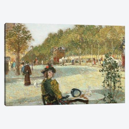September Sunlight, Paris  Canvas Print #BMN2154} by Childe Hassam Art Print