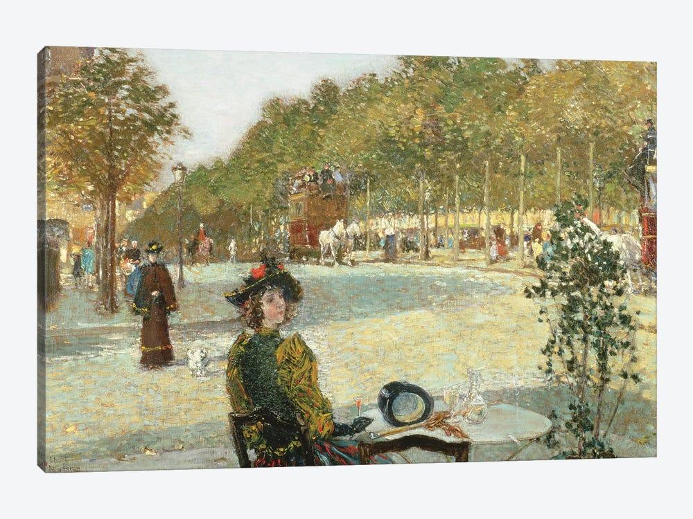 September Sunlight, Paris  by Childe Hassam 1-piece Art Print