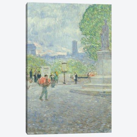 Quai Malaquais, 1897  Canvas Print #BMN2155} by Childe Hassam Art Print