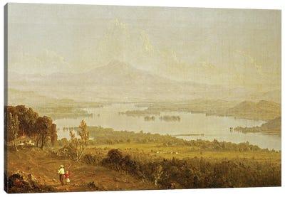 Lake Winnipiseogee, 1858  Canvas Art Print