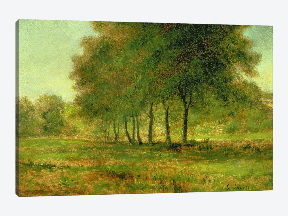 Summer  by George Inness Sr. 1-piece Canvas Artwork