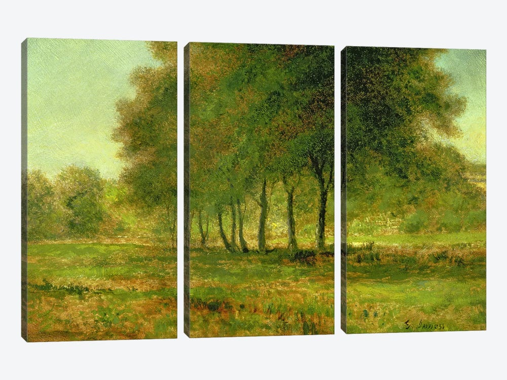 Summer  by George Inness Sr. 3-piece Canvas Wall Art