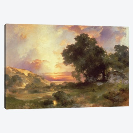Landscape, 1920  Canvas Print #BMN2159} by Thomas Moran Canvas Art