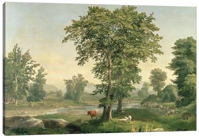 Landscape, 1846  Canvas Art Print
