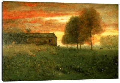Sunset, Montclair, 1892  Canvas Art Print