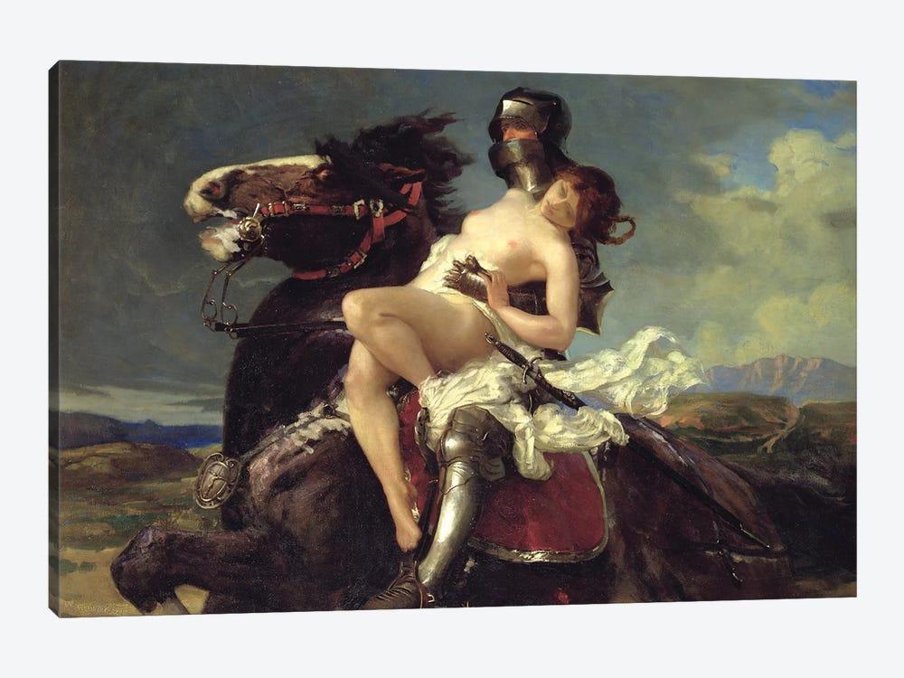 The Rescue  by Vereker Monteith Hamilton 1-piece Canvas Art Print