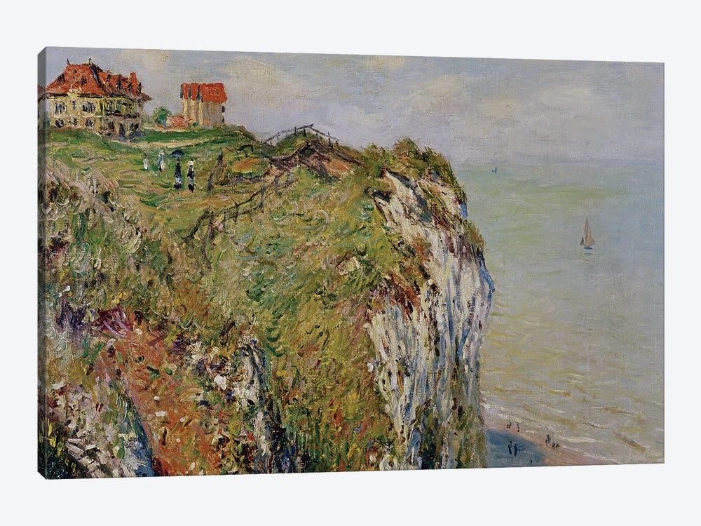 Cliff at Dieppe, 1882  by Claude Monet 1-piece Canvas Art