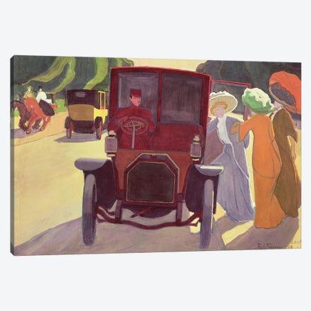 The Road with Acacias, 1908  Canvas Print #BMN2188} by Roger de la Fresnaye Canvas Print