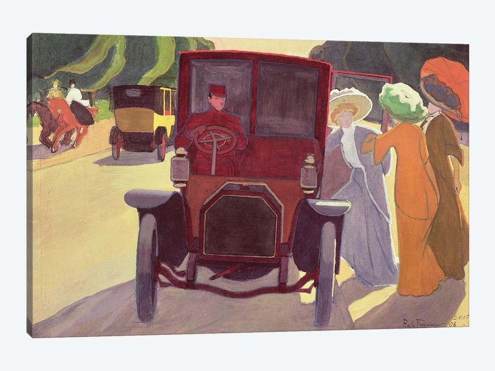 The Road with Acacias, 1908  by Roger de la Fresnaye 1-piece Canvas Wall Art