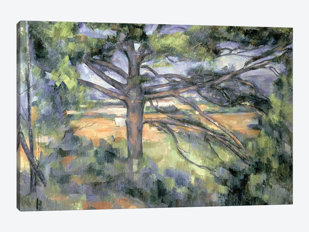 The Large Pine, 1895-97  by Paul Cezanne 1-piece Canvas Art
