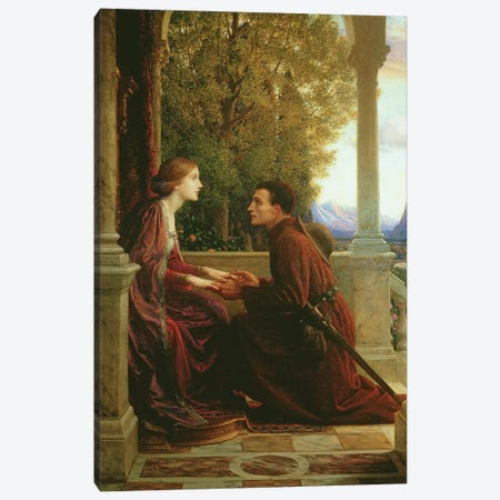 The End of the Quest, 1921  3-Piece Canvas #BMN2197} by Sir Frank Dicksee Canvas Art Print
