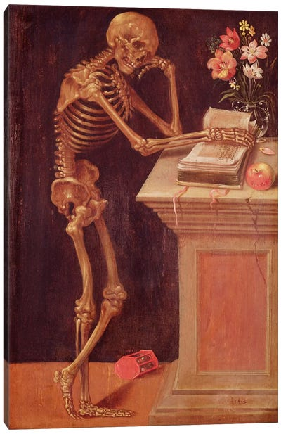 Vanitas, 1543  Canvas Art Print