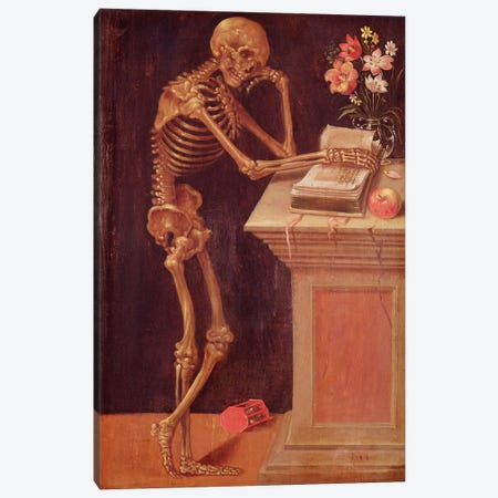 Vanitas, 1543  Canvas Print #BMN2219} by Hans Holbein the Younger Art Print