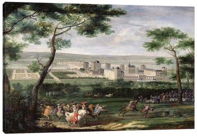 View of the Chateau de Vincennes, c.1665  Canvas Art Print