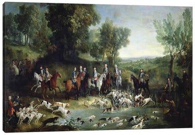 Louis XV  Canvas Art Print