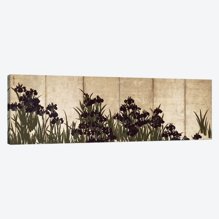 Irises  Canvas Print #BMN222} by Ogata Korin Canvas Art