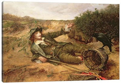 Fallen by the Wayside, 1886  Canvas Art Print