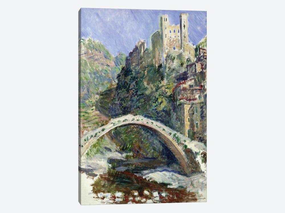The Castle of Dolceacqua, 1884  by Claude Monet 1-piece Canvas Art