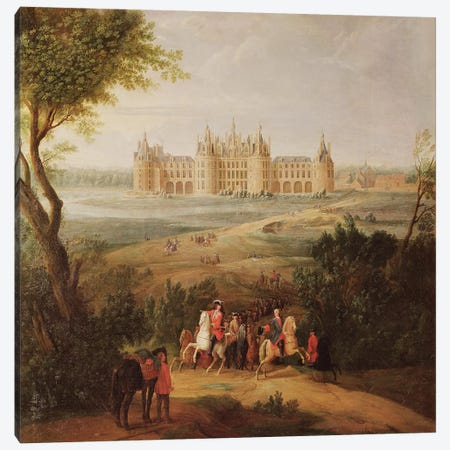 The Chateau de Chambord, 1722  Canvas Print #BMN2238} by Pierre-Denis Martin Art Print