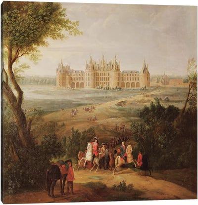 The Chateau de Chambord, 1722  Canvas Art Print