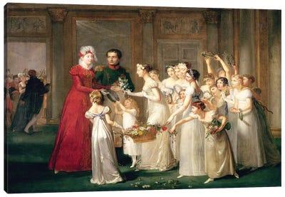 The Arrival of Marie-Louise de Habsbourg-Lorraine  Canvas Art Print
