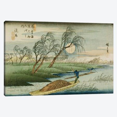 Seba Canvas Print #BMN2249} by Utagawa Hiroshige Canvas Art