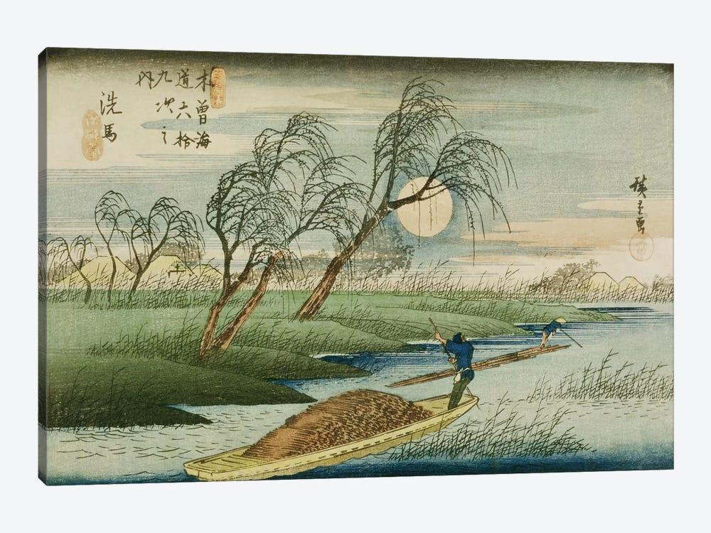 Seba by Utagawa Hiroshige 1-piece Canvas Print