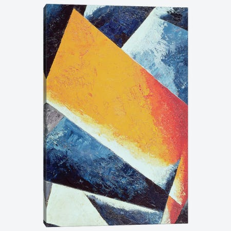 Architectonic Composition  Canvas Print #BMN224} by Lyubov Popova Canvas Art Print