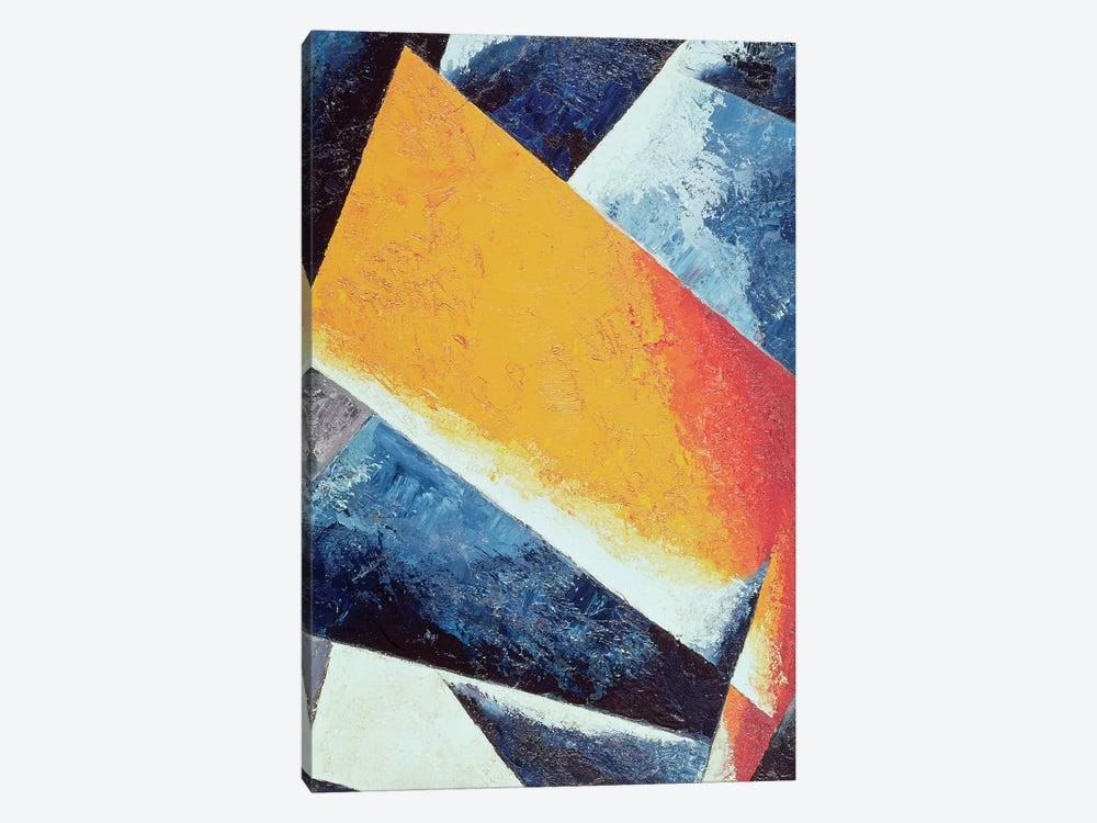 Architectonic Composition  by Lyubov Popova 1-piece Canvas Art