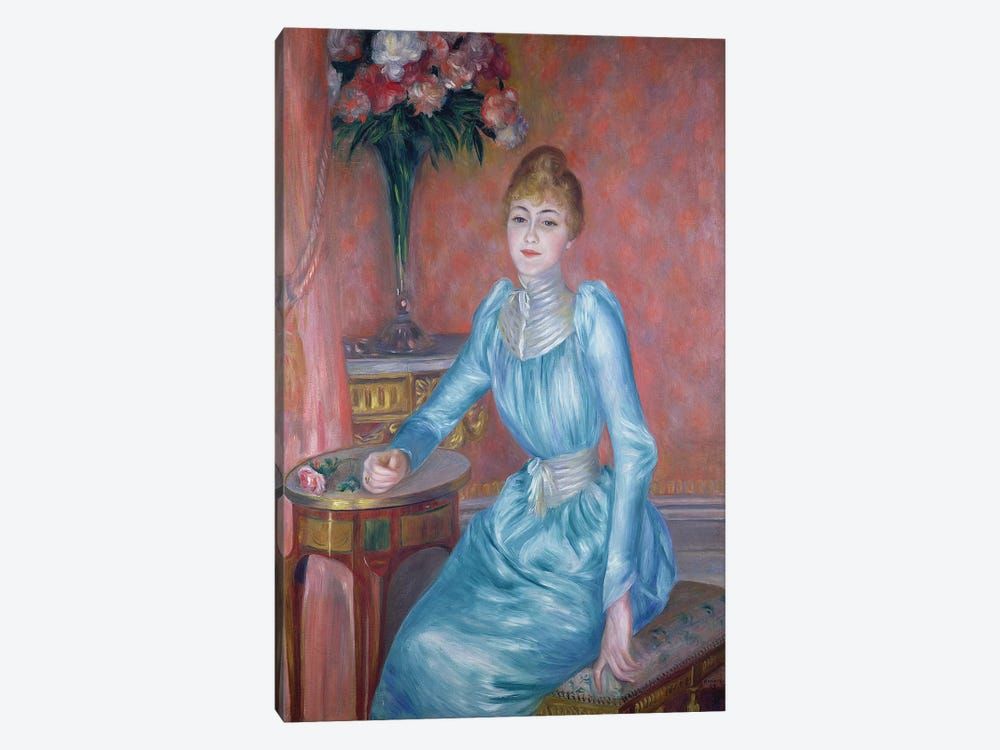 Madame de Bonnieres, 1889  by Pierre-Auguste Renoir 1-piece Art Print