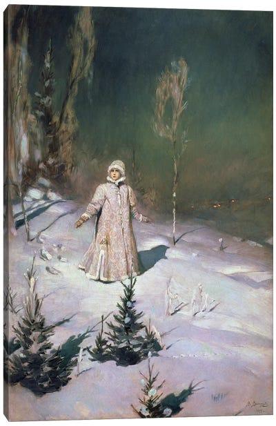 Snow Maiden, 1899  Canvas Art Print