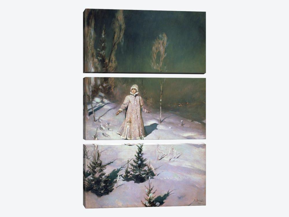 Snow Maiden, 1899  by Victor Mikhailovich Vasnetsov 3-piece Canvas Artwork