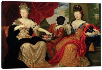 Portrait of Francoise-Marie de Bourbon  Canvas Art Print