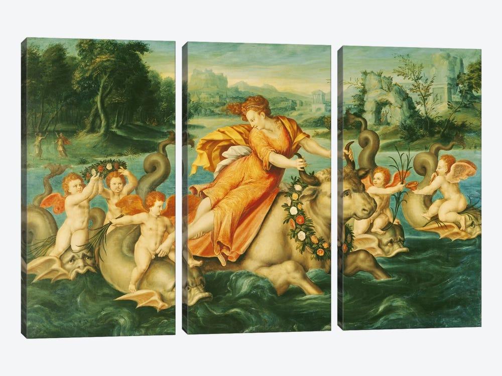 The Rape of Europa  by French School 3-piece Art Print