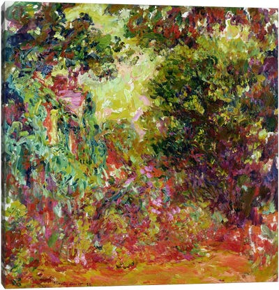 The Artist's House from the Rose Garden, 1922-24  Canvas Print #BMN2277