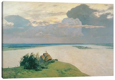Above the Eternal Peace, 1894  Canvas Art Print