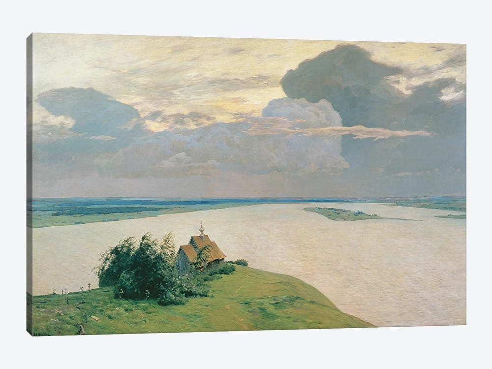 Above the Eternal Peace, 1894  by Isaak Ilyich Levitan 1-piece Canvas Art