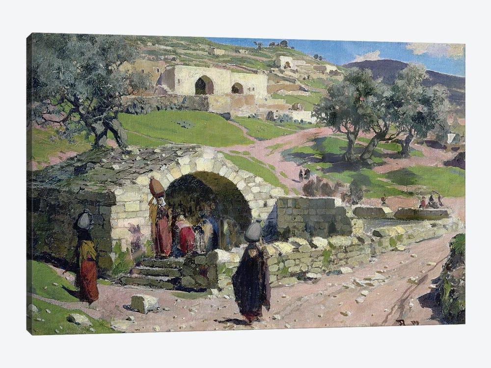 The Virgin Spring in Nazareth, 1882  by Vasilij Dmitrievich Polenov 1-piece Art Print