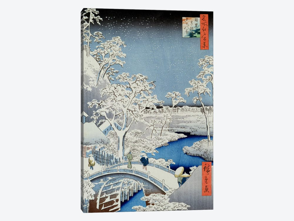 Winter Landscape by Japanese School 1-piece Art Print