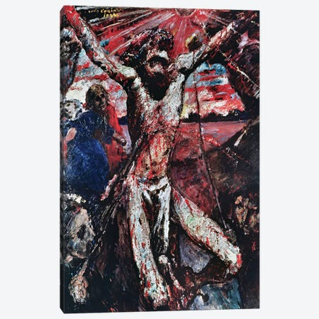 The Red Christ, 1922  Canvas Print #BMN2291} by Lovis Corinth Art Print