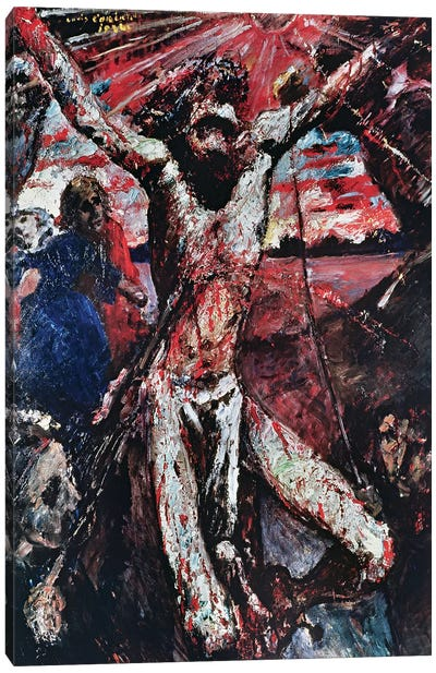 The Red Christ, 1922  Canvas Art Print