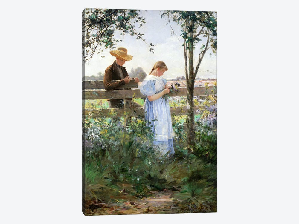 A Country Romance  by David B. Walkley 1-piece Art Print