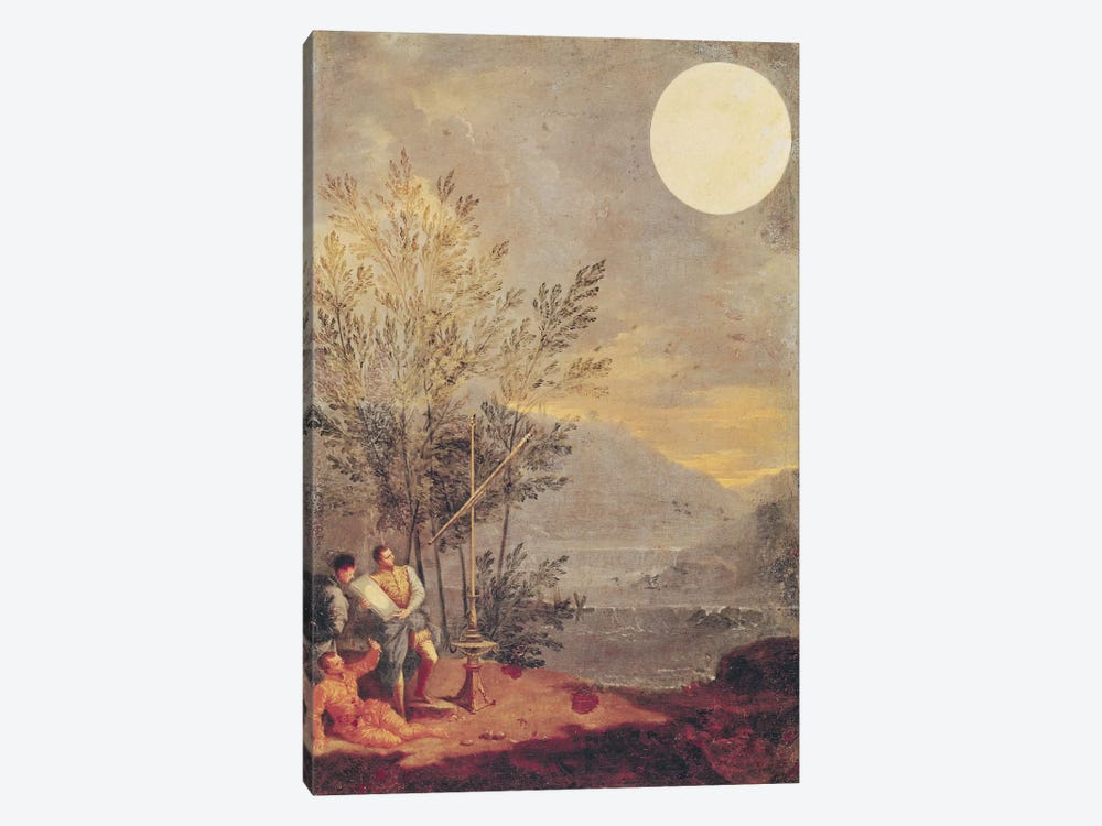 Astronomical Observations  by Donato Creti 1-piece Canvas Art Print