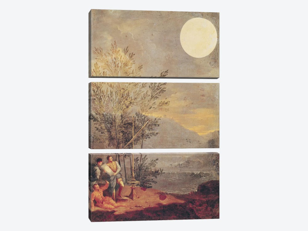 Astronomical Observations  by Donato Creti 3-piece Canvas Print
