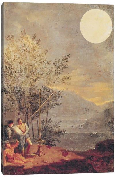 Astronomical Observations  Canvas Art Print