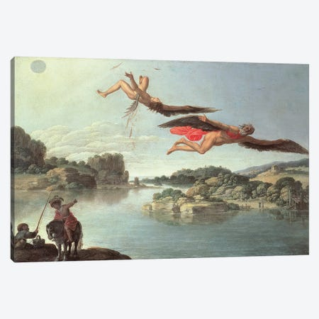 The Fall of Icarus  Canvas Print #BMN2304} by Carlo Saraceni Canvas Artwork